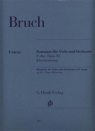 Bruch, M. (Weber, ed.): Romance in F Major, Op.85, urtext (viola & piano)