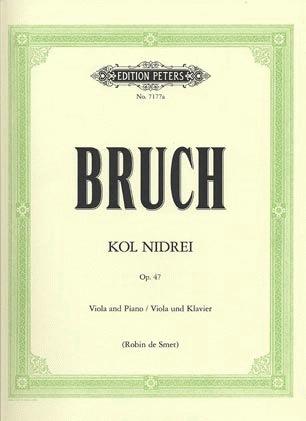 Bruch, Max: Kol Nidre (viola & piano)