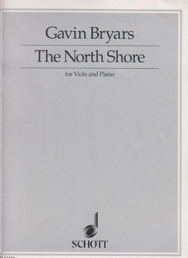 HAL LEONARD Bryars: North Shore (viola & piano)