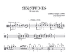 HAL LEONARD Burgon, Geoffrey (Knight): Six Studies for Solo Viola