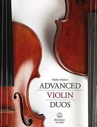 Barenreiter Bodunov, V.: Advanced Violin Duos (two violins) Barenreiter