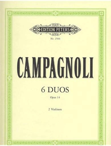 Campagnoli, B.: 6 Duos, Op.14 (two violins)