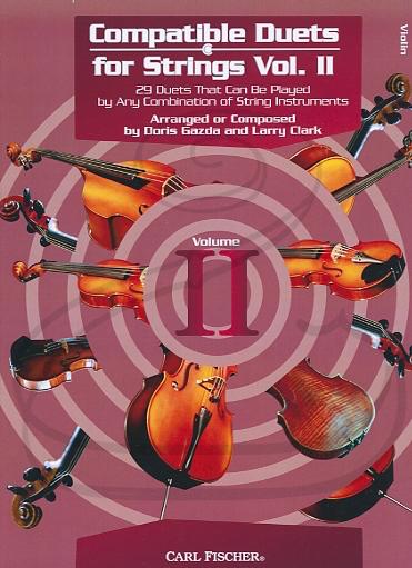 Carl Fischer Clark & Gazda: Compatible Duets for Strings, Vol.2 (2 violins) Carl Fischer