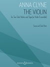 HAL LEONARD Clyne: The Violin (2 violin, tape/violin ensemble) Boosey & Hawkes
