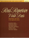 Faber Music Cohen, M.: Real Repertoire Violin Duets - Intermediate violin duets of the 18th century (two violins)