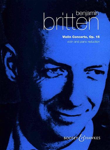 HAL LEONARD Britten, B.: Concerto, Op.15 (violin & piano)