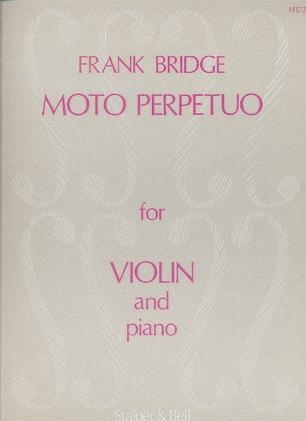 Stainer & Bell Ltd. Bridge, Frank: Moto Perpetuo (violin & piano)