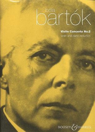 HAL LEONARD Bartok, B.: Violin Concerto No. 2 (Violin & Piano)