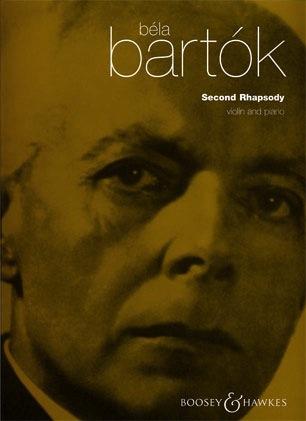 HAL LEONARD Bartok, B.: Second Rhapsody (violin & piano)