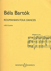 Bartok: Romanian Folk Dances (violin & piano)