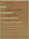 HAL LEONARD Khachaturian: 'Dance'/'Song-Poem' - 'Nocturn' from ''Masquerade'' (violin & piano) Zen-On