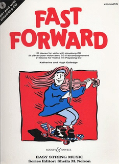 HAL LEONARD Colledge, K.: Fast Forward (violin & CD)