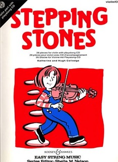 HAL LEONARD Colledge, K: Stepping Stones: 26 pieces (violin, play-along CD)