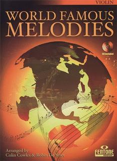 HAL LEONARD Cowles, Colin: World Famous Melodies (violin & CD)