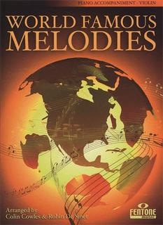 HAL LEONARD Cowles, Colin: World Famous Melodies (piano accompaniment)