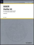 HAL LEONARD Biber: Partita VII (2 violas, piano) SCHOTT