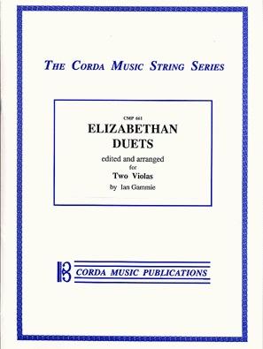 Elizabethan Duos: 13 Duets for 2 Violas