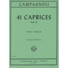 International Music Company Campagnoli, Bartolomeo: 41 Caprices Op.22 (viola) IMC