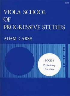 Stainer & Bell Ltd. Carse: Viola School of Progressive Studies Bk.1 (viola)