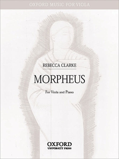 Oxford University Press Clarke, R.: Morpheus (viola, and piano)