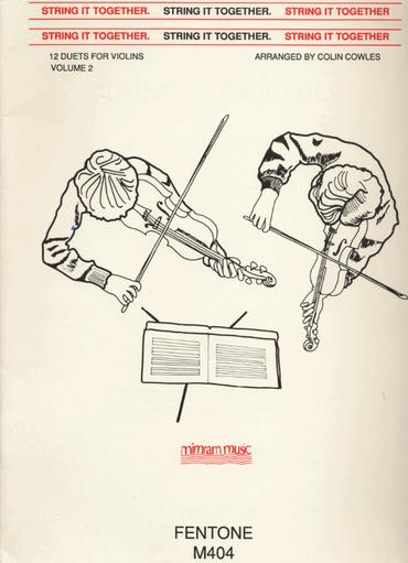 HAL LEONARD Cowles, C.: String It Together, 12 Duets for Violins, Volume II (two violins)