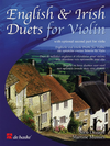 HAL LEONARD Dezaire, Nico: English & Irish Duets for Violin with optional 2nd part for viola