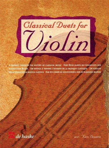 HAL LEONARD Dezaire, Nico: Classical Duets for Violin (2 Violins)