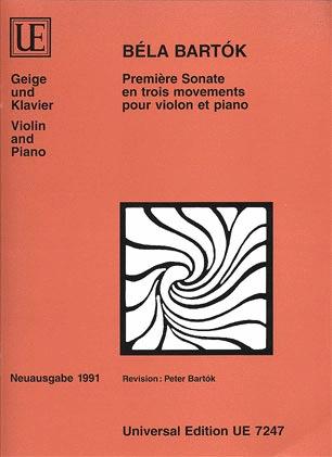 HAL LEONARD Bartok, B.: Sonata No. 1 (Violin and Piano)