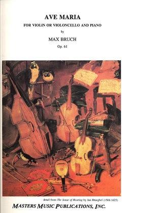 LudwigMasters Bruch, Max: Ave Maria (violin & piano)(cello & piano)