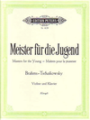 Klengel: Album ''Masters for the Young'' Brahms/Tchakowsky (violin & piano)
