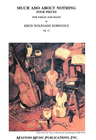 LudwigMasters Korngold, Erich Wolfgang: Much Ado About Nothing Op.11 (violin & piano)