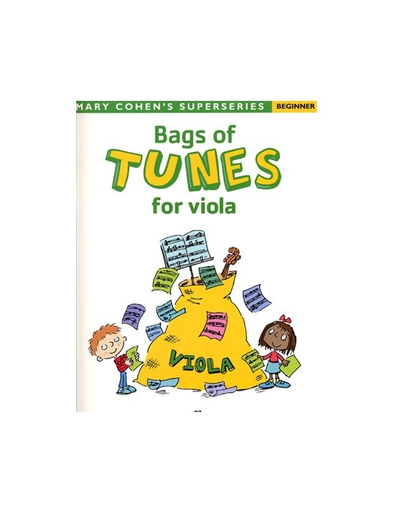 Faber Music Cohen, Mary: Bags of Tunes for Viola-Beginner (viola)