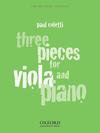 Coletti, P.: Three Pieces for Viola and Piano