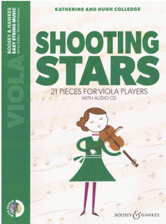 HAL LEONARD Colledge: Shooting Stars; 21 Pieces for Viola Players (viola, audio CD) BH