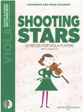 HAL LEONARD Colledge: Shooting Stars; 21 Pieces for Viola Players (viola, audio CD) BH