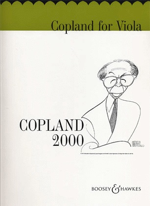 HAL LEONARD Copland, A.: Copland for Viola 2000 (viola part only)
