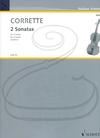 HAL LEONARD Corrette (Doflein): 2 Sonatas (2 violas) Schott