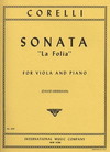 International Music Company Corelli, Arcangelo: La Folia (viola & piano) IMC