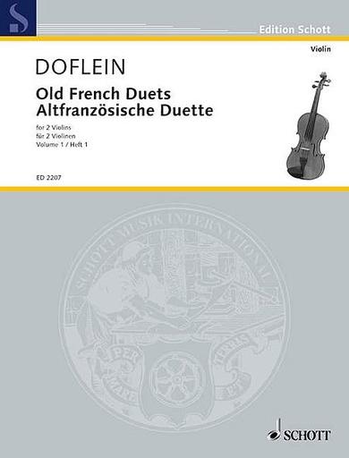 HAL LEONARD Doflein (editor): Old French Duets, Vol. 1 (2 violins)