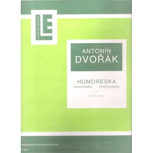 Barenreiter Dvorak, Antonin: Humoresque in G flat Op.101 No. 7 (2 violins)