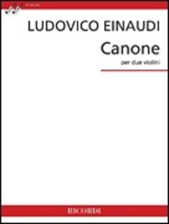 HAL LEONARD Einaudi: Canone (2 violins) RICORDI