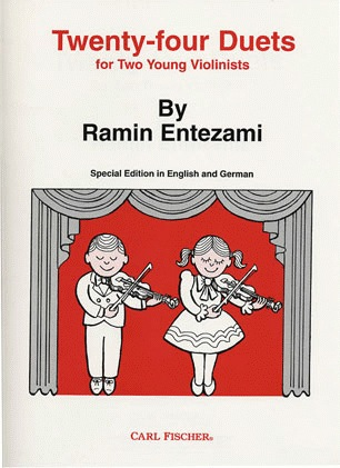 Carl Fischer Entezami, Ramin: 24 Duets for 2 Young Violinists (2 violins)
