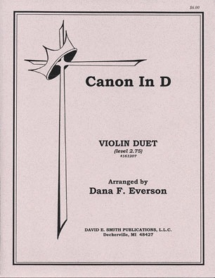 Pachelbel (Everson): Canon in D (2 violins)