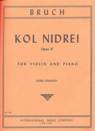 International Music Company Bruch, Max: Kol Nidrei (violin & piano)