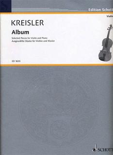 HAL LEONARD Kreisler, Fritz: Repertoire Album (violin & piano)