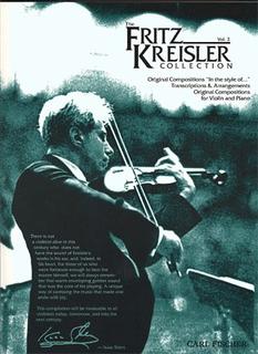 Carl Fischer Kreisler: The Fritz Kreisler Collection, Vol.2 (violin & piano)