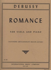 International Music Company Debussy, Claude: Romance (viola & piano)