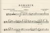 International Music Company Debussy, Claude: Romance (viola & piano)