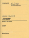 HAL LEONARD Dello Joio, Norman: Lyric Fantasies (Viola & Piano)