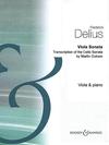 HAL LEONARD Delius, Frederick: Viola Sonata, transcription of the Cello Sonata (viola & piano)
